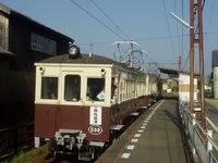 80歳のレトロ電車