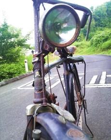 自転車正面